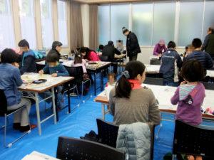 和凧つくり教室の写真 NO.2
