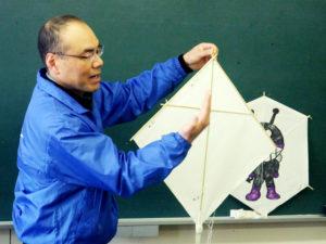 和凧つくり教室の写真 NO.1